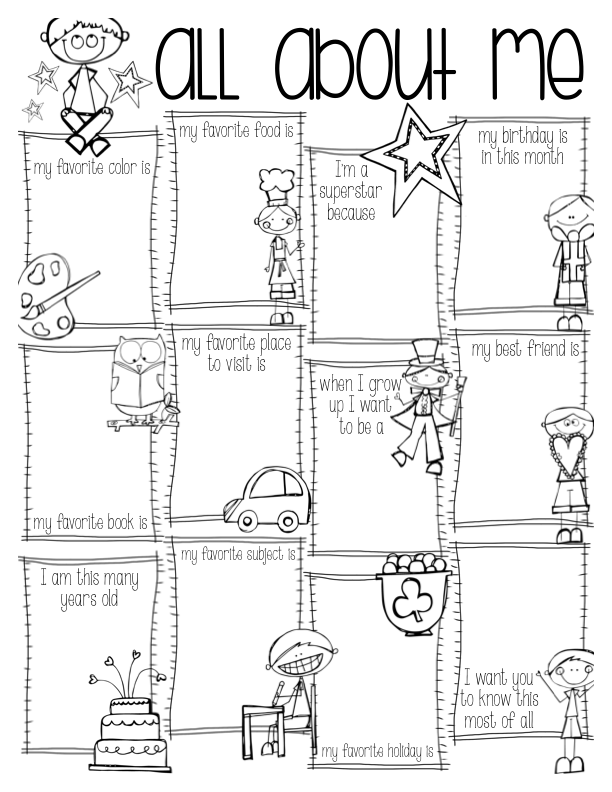 All About Me Colouring Pages All About Me Coloring Pages To Download And Print For Free Download Coloring Pages All About Me Colouring Pages Outstanding Popul