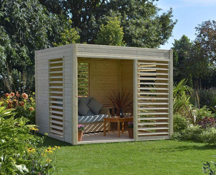 Abri de jardin arty abri jardin nordique abri bois scandinave dedans dehors abri de - Cabane de jardin design ...