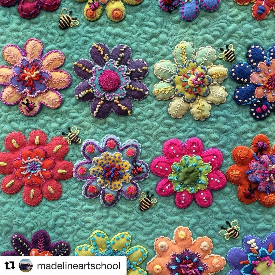 "620 Likes, 7 Comments - Sue Spargo (@suespargo) on Instagram: ""#Repost @madelineartschool  Stitch inspiration from MISA Instructor Sue Spargo!  MISA Workshops in…"""