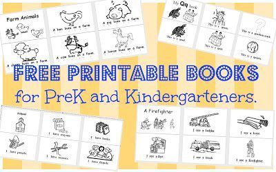 Free worksheets, printable books and resources for early readers ...