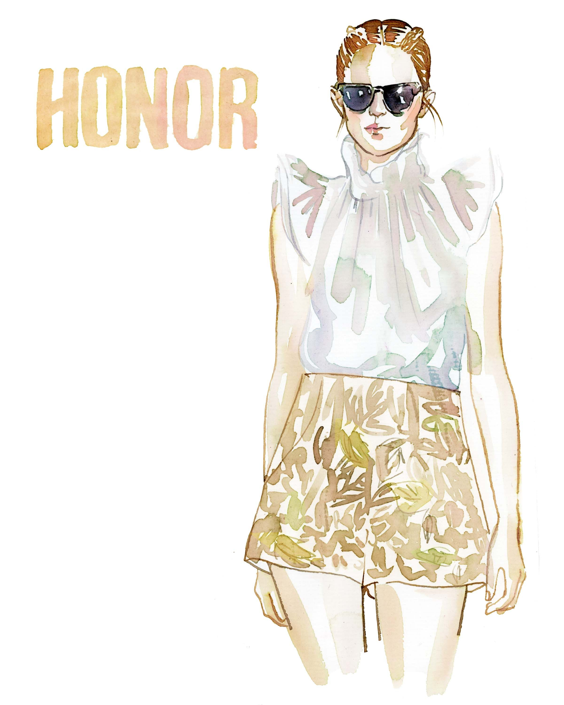 Honor Spring 2013.