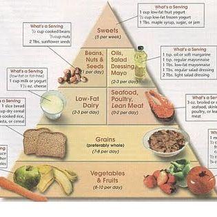 Wöchentliches Menü der hyperproteischen Diät