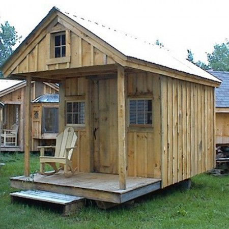 Tiny House on Wheels in 2020   Shed plans, Shed, Building ...