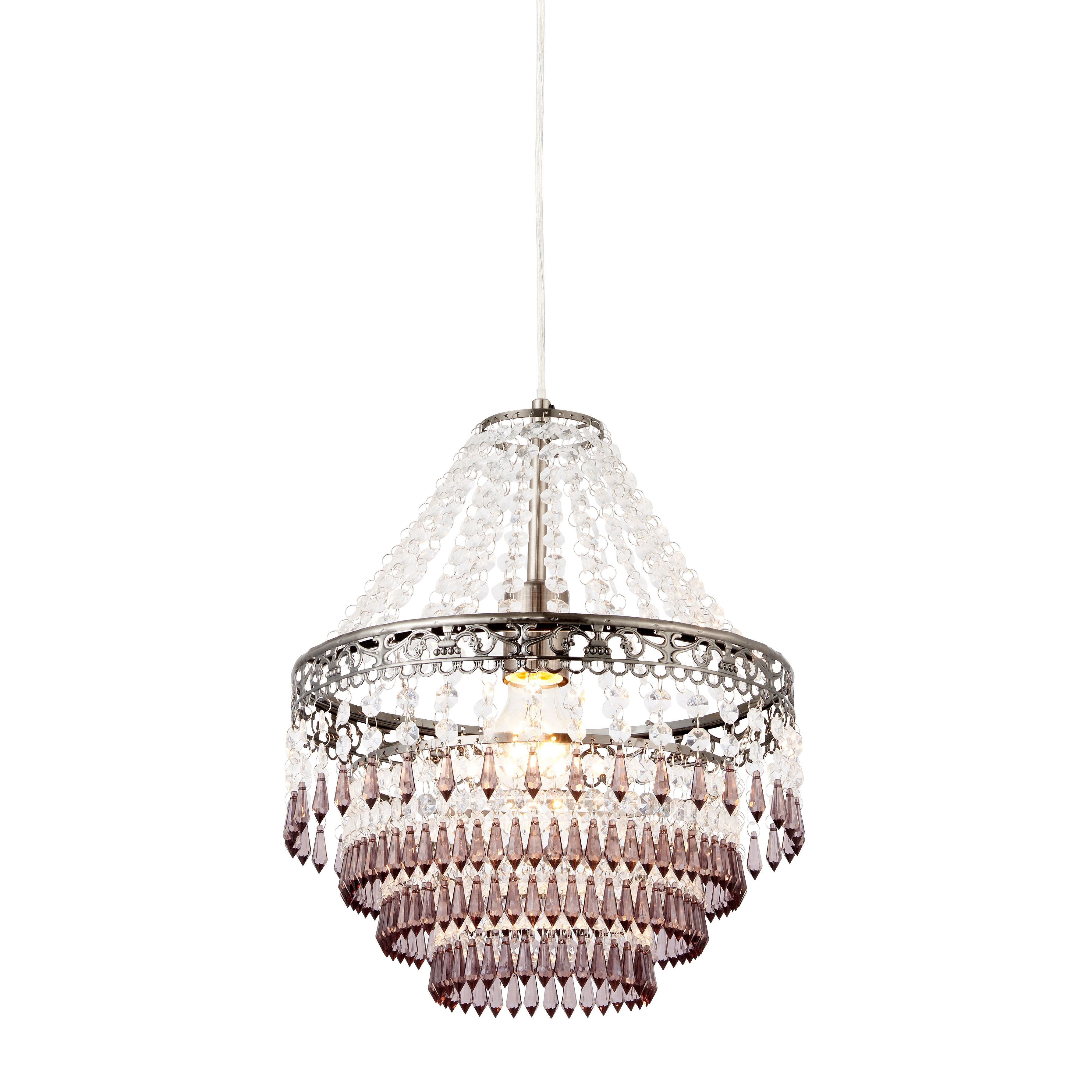 Corinna crystal beaded pewter pendant ceiling light pewter corinna crystal beaded pewter pendant ceiling light aloadofball Image collections