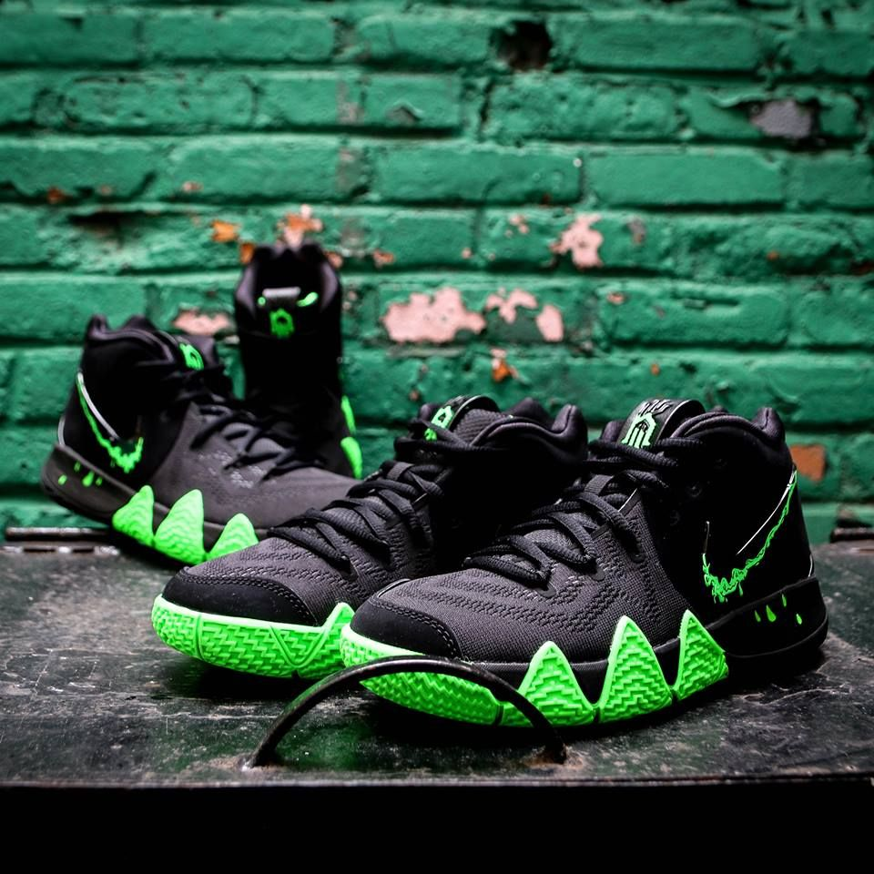 4ecac8d72e43 Nike Kyrie 4  Halloween  🎃