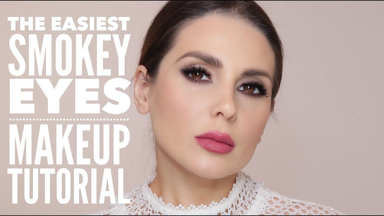 The Easiest Smokey Eyes Makeup Tutorial Ali Andreea Youtube
