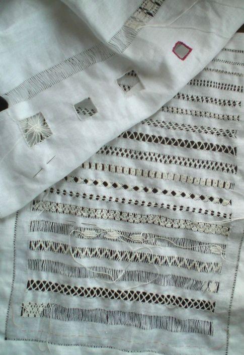 drawn thread sampler