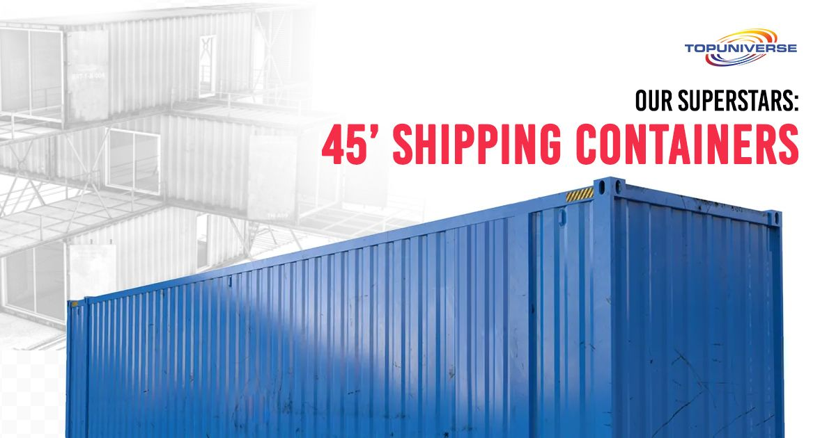 45 Foot Shipping Containers For Sale In 2020 Containers For Sale Shipping Containers For Sale Used Shipping Containers