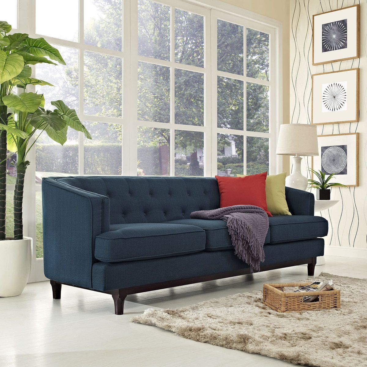 coastline sofa azure in 2019 shop the look transitional design rh pinterest com