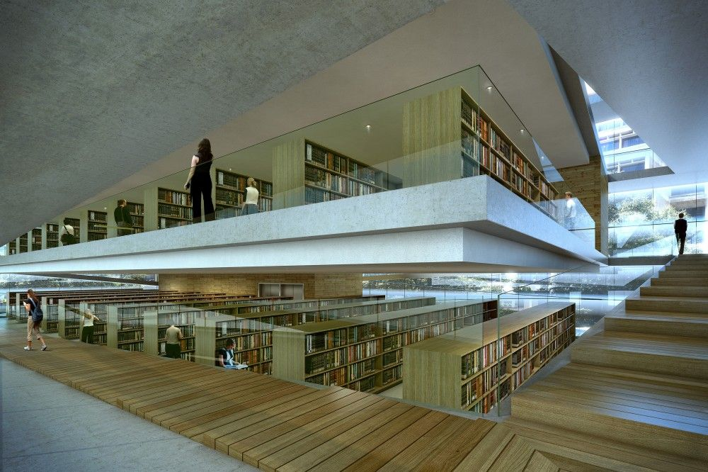 Gallery Of Baton Rouge Downtown Library By Trahan Architects
