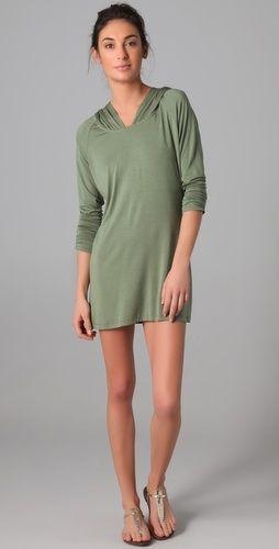 Tori Praver Swimwear Hooded Cover Up - StyleSays