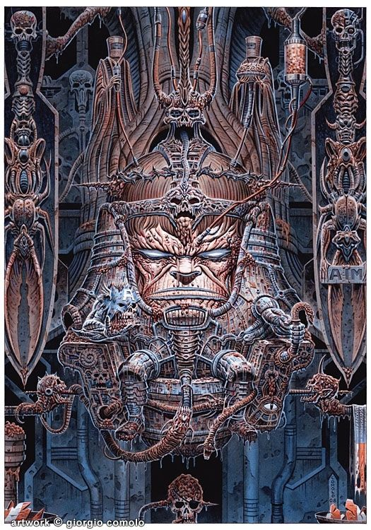modokgiger | Comic book villains, Marvel villains