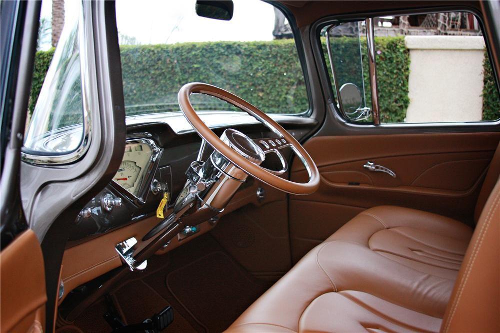 1955 Gmc Custom Pickup Interior 138249 Truck Interior 57
