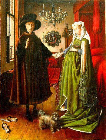 Il Mistero dei Coniugi Arnolfini tra simbolismo e specchi,È Sotto la superficie pittorica, che spesso si nascondono significati reconditi, enigmi e misteri.