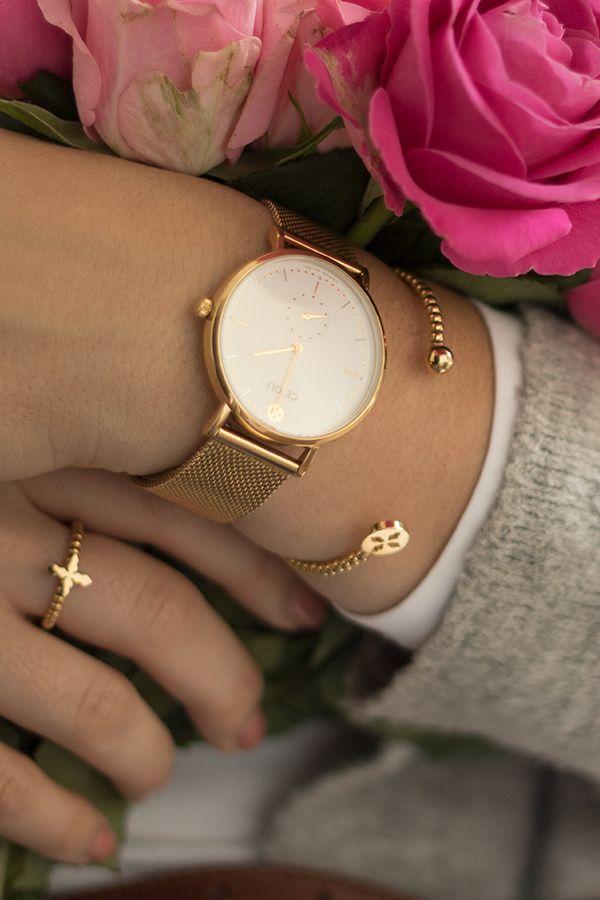 watch celebrate line white gold meshband gold in 2019 ceyoli geschenkideen watches gold. Black Bedroom Furniture Sets. Home Design Ideas