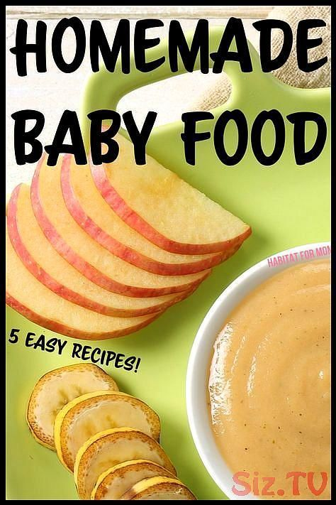 5 easy stage 1 homemade baby food recipes 4 6 months Baby food recipes stage 1B..., #Baby #...