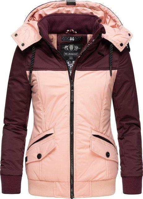 Winterjacke Sumikoo Stylische Damen Outdoorjacke Mit Abnehmb Kapuze Jacken Winterjacke Damen Und Winterjacken