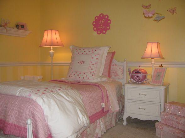 Best 25 Yellow girls bedrooms ideas on