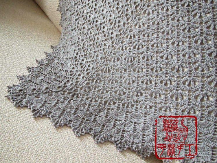Haak: shawl sjaal