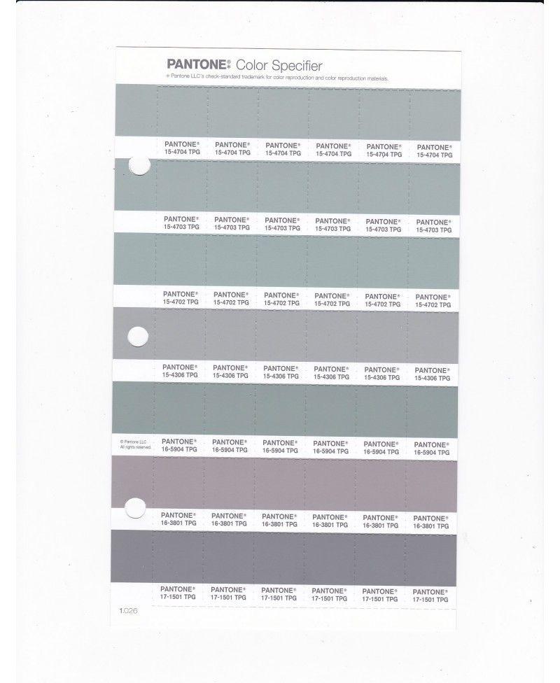 PANTONE 15 4703 TPG Mirage Gray Replacement Page (Fashion, Home U0026 Interiors)    Design Info