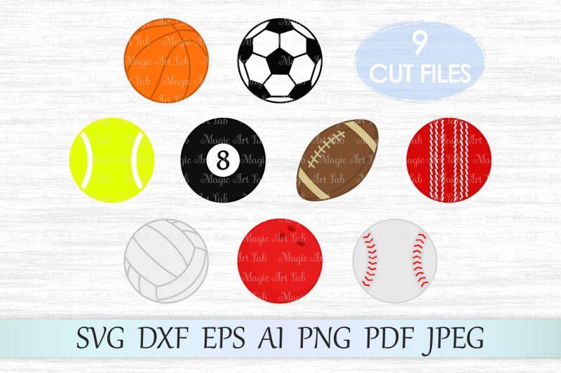 Free Sport Svg Sport Balls Clipart Sport Balls Svg Crafter File Sports Svg Sports Svg Files Svg