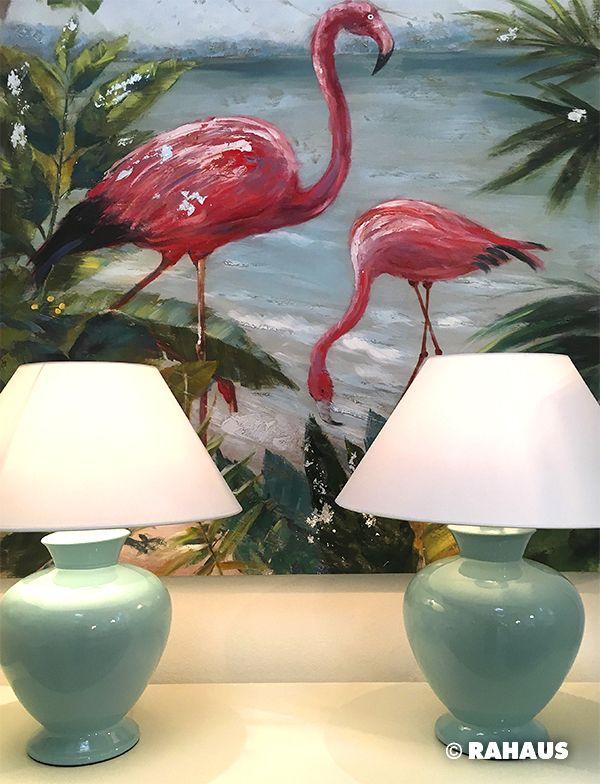 miami leuchte lampe light flamingo pink mint. Black Bedroom Furniture Sets. Home Design Ideas