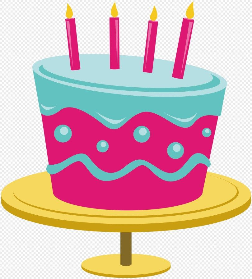 27 Beautiful Image Of Cartoon Birthday Cake Vector Material