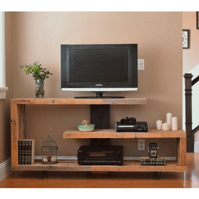 Timber And Soul Built Tv Console Modern Apartment Decor Unique
