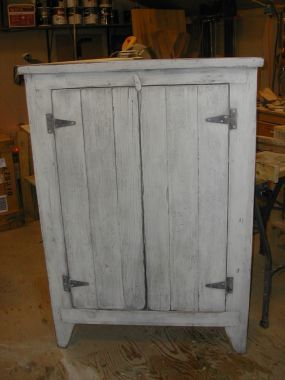 Primitive cupboard built around an old shed door. & Primitive cupboard built around an old shed door. | Home Style ...