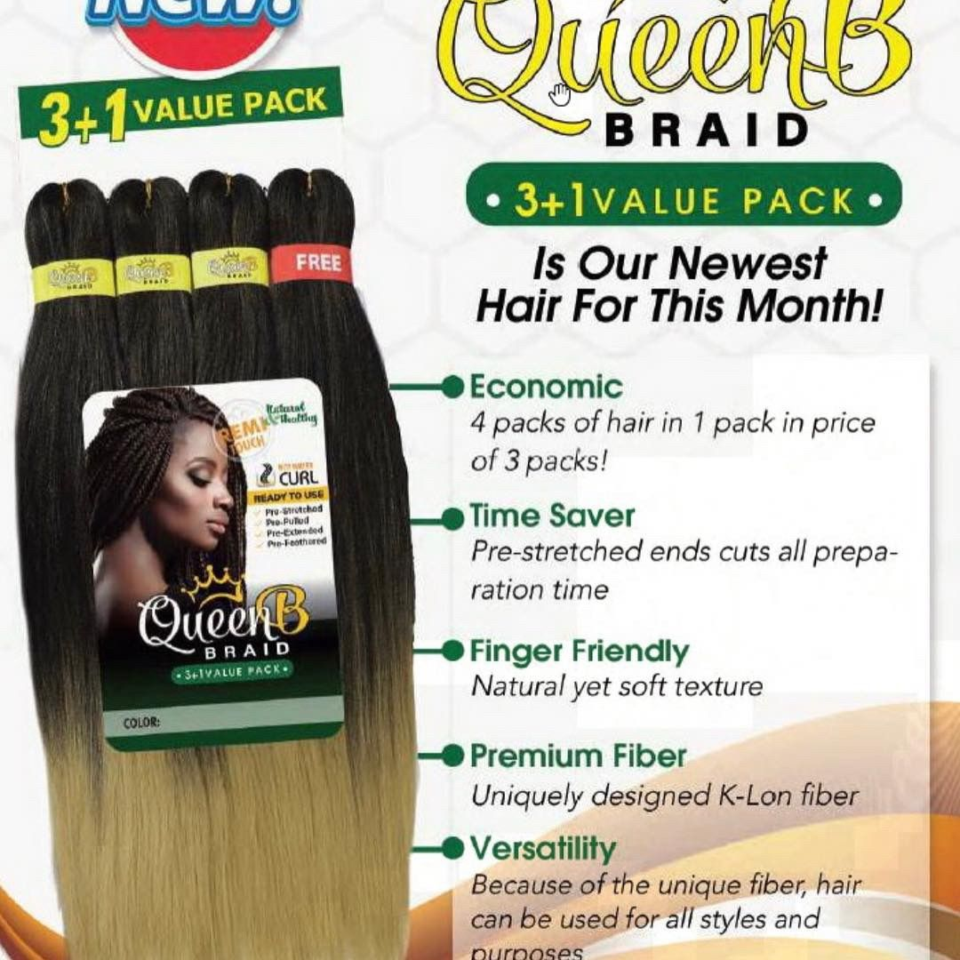 Don T Forget Queen B Braiding Hair 30 Off All Month Long Use