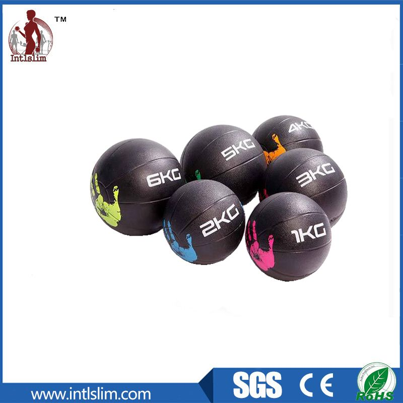1 Product Name Color Rubber Medicine Ball 2 Material Rubber Surface 3 Color Blue Purple Yellow Green Black Orange Red Or C Medicine Ball Gym Ball Ball