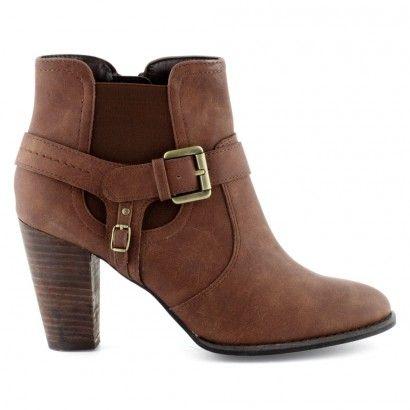 grande vente 53d4f b71f9 Boots/Bottines camel pour Femme : Boots/Bottines Laureana ...