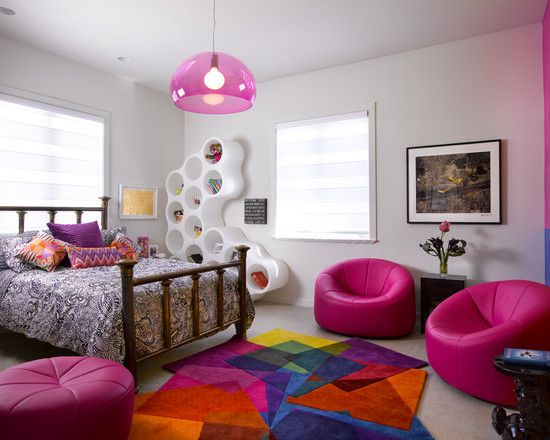 Cool Bedrooms For Teenage Girls Pink
