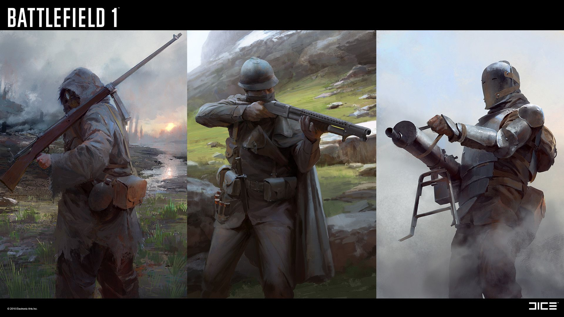 The Art Of Battlefield 1 | Games | Battlefield 1, Concept art world