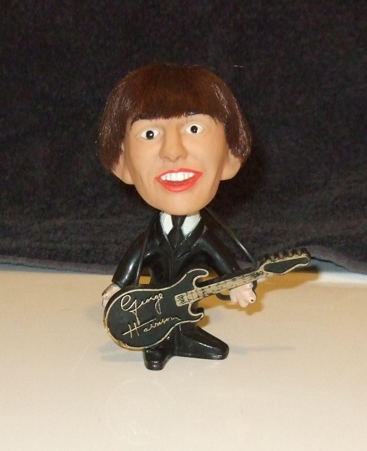 BEATLES...George Harrison REMCO doll w/instrument