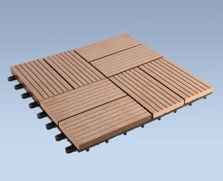 Diy Wood Plastic Composite Wpc Tiles Size 300mm 300mm 20mm