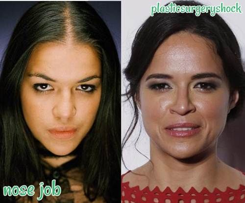 Michelle Rodriguez Nose Job | When They Were         | Michelle