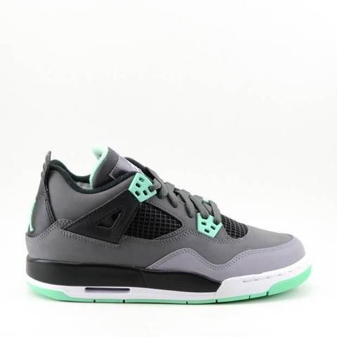 pretty nice 05d7c 9128e Air Jordan 4 Retro GS  Green Glow   - 408452 033-Urban Necessities