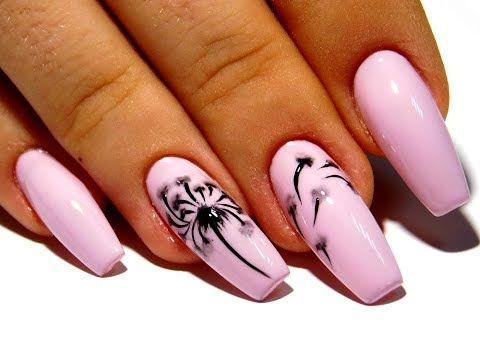 дизайн ногтей простой и красивый 1