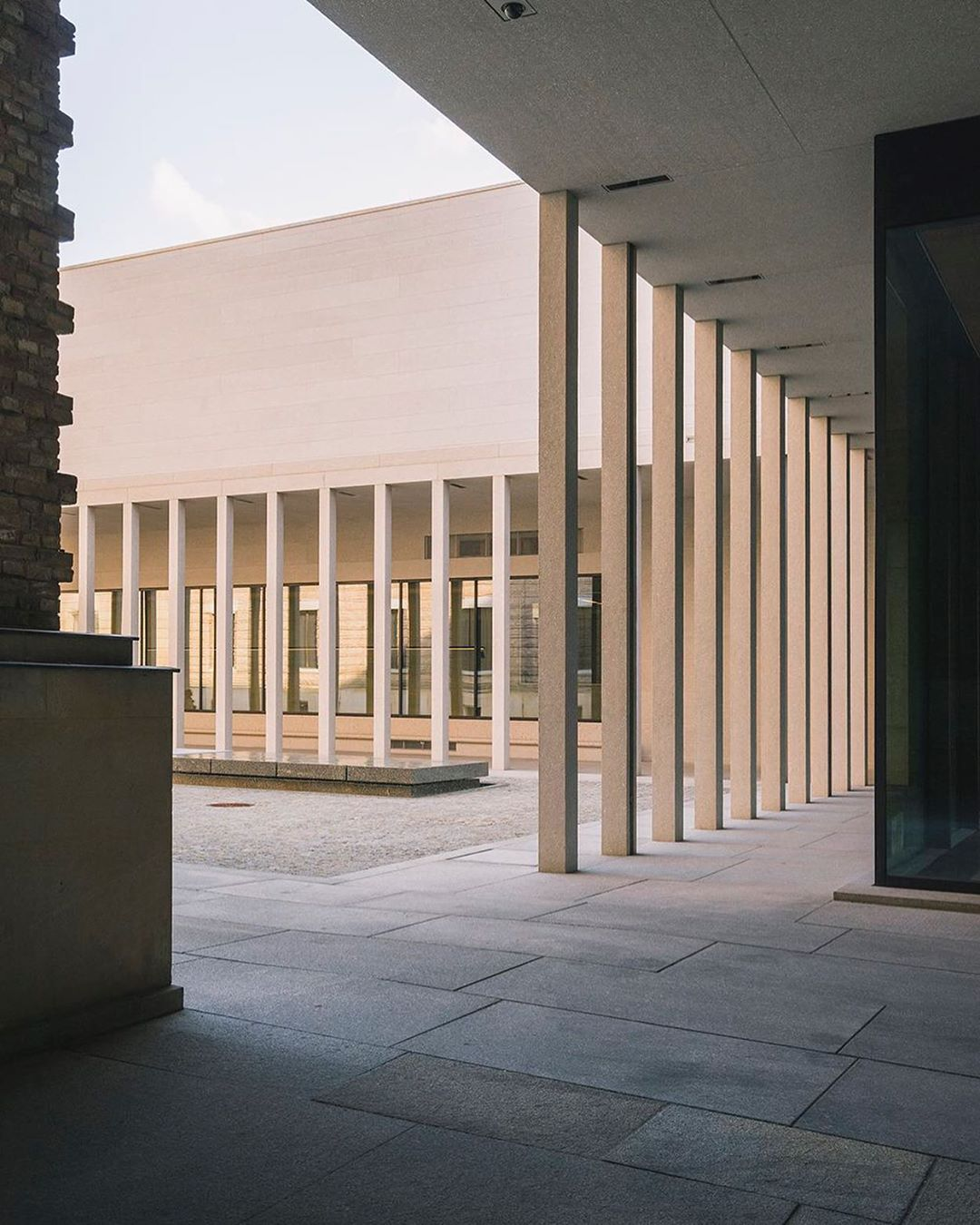 Global Spaces On Instagram James Simon Gallery By David Chipperfield Architects Architecture David Chipperfield Architects Architecture Details