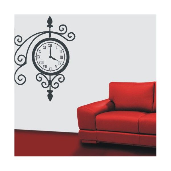 Image detail for -Decorative Stickers - Clock - Wall stickers  sc 1 st  Pinterest & Image detail for -Decorative Stickers - Clock - Wall stickers ...
