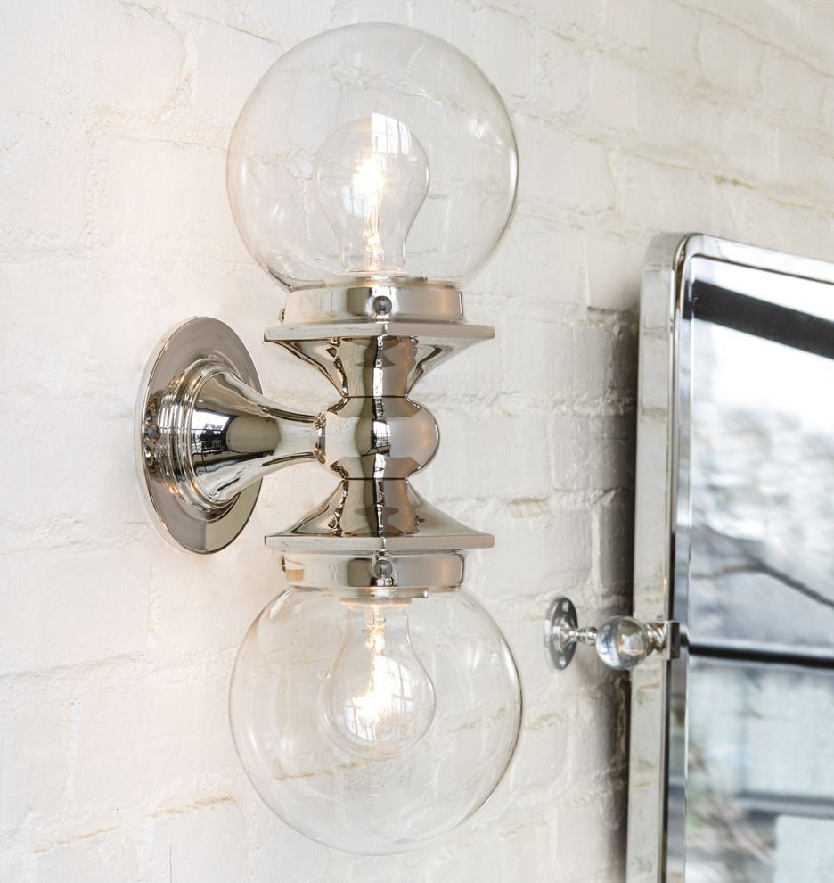 Rejuvenation Pittock Double Sconce
