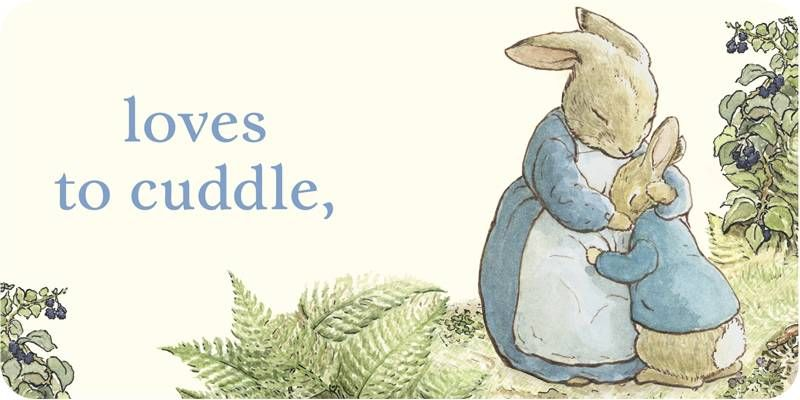 i love Peter Rabbit.  when i have kids. i'll be sure to introduce him to 'em.
