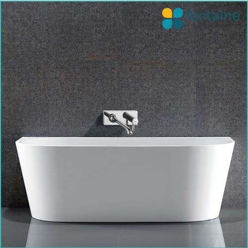 Harper Back To Wall Bath 1500 Fontaine Industries Bathroom Reno