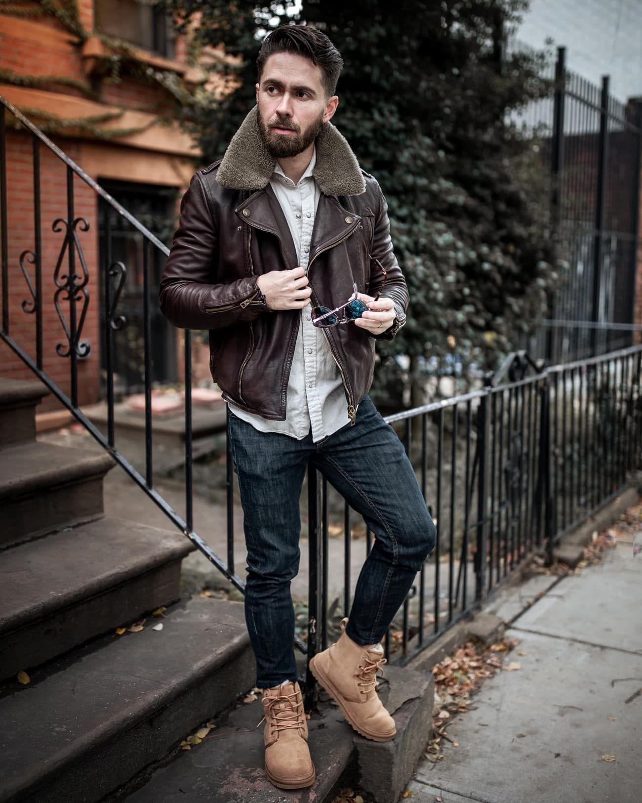 How to Style a Pair of Men's UGG Boots for Fall