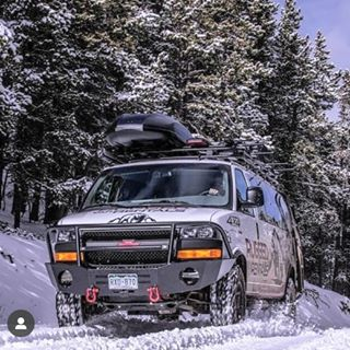 Chevy Van From Rugged Rentals With Aluminess Front Bumper Roof