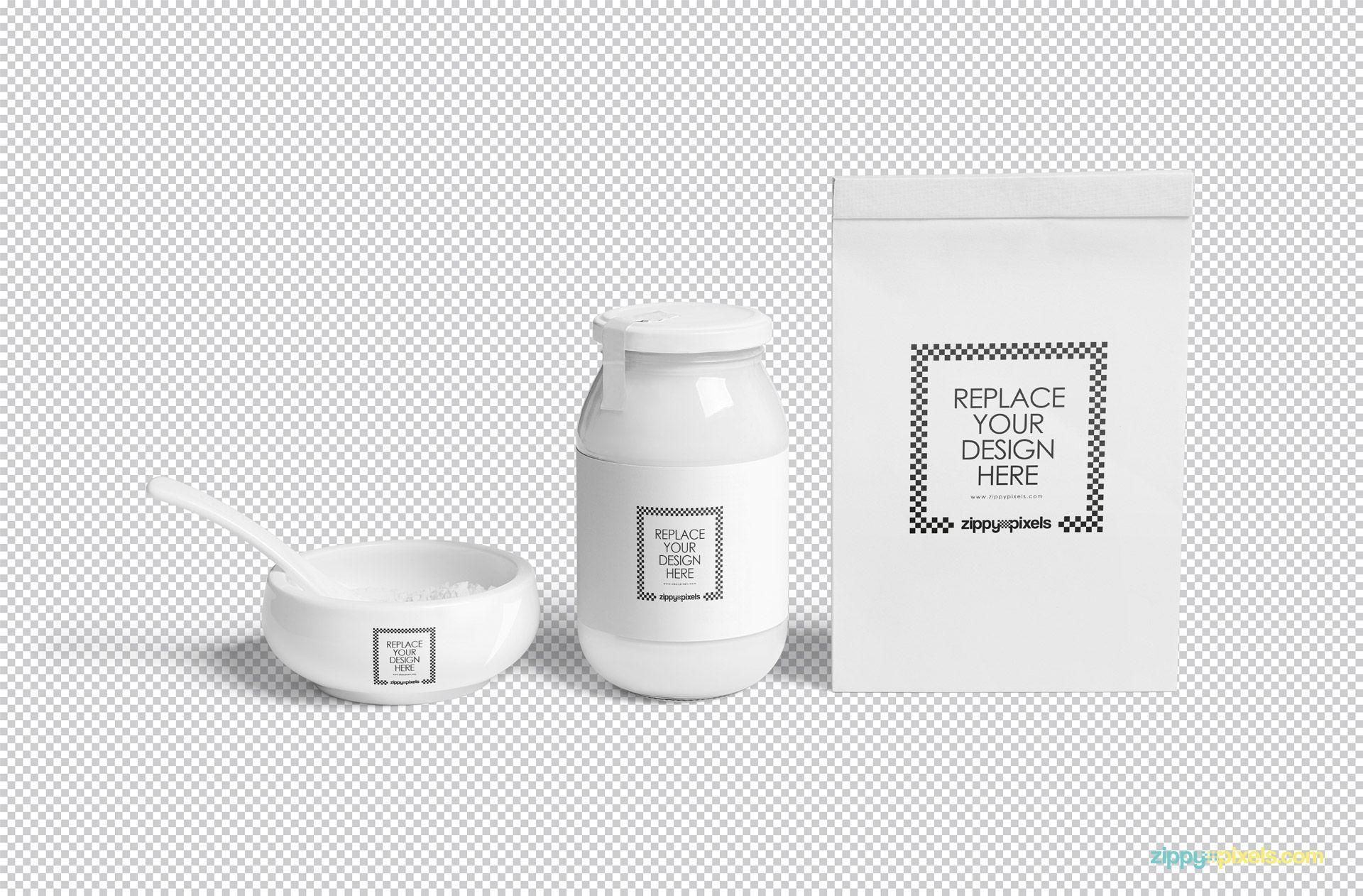 Download Free Jar Mockup Zippypixels Packaging Mockup Jar Mockup