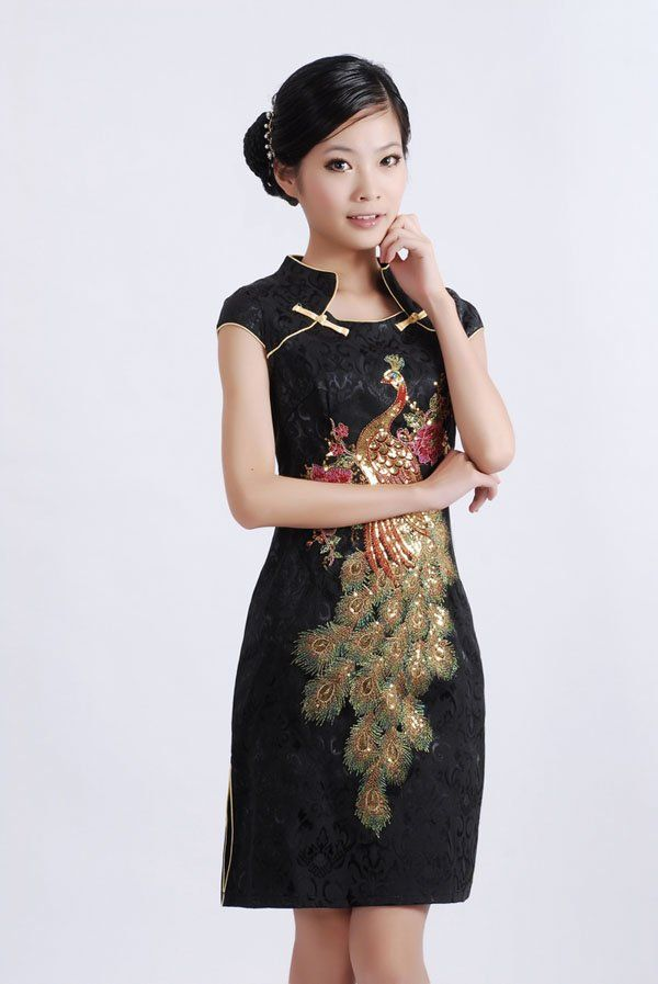 5d9a2a03059ac Dress Chinese traditional dress Size S M L XL XXL,XXXL(China ...