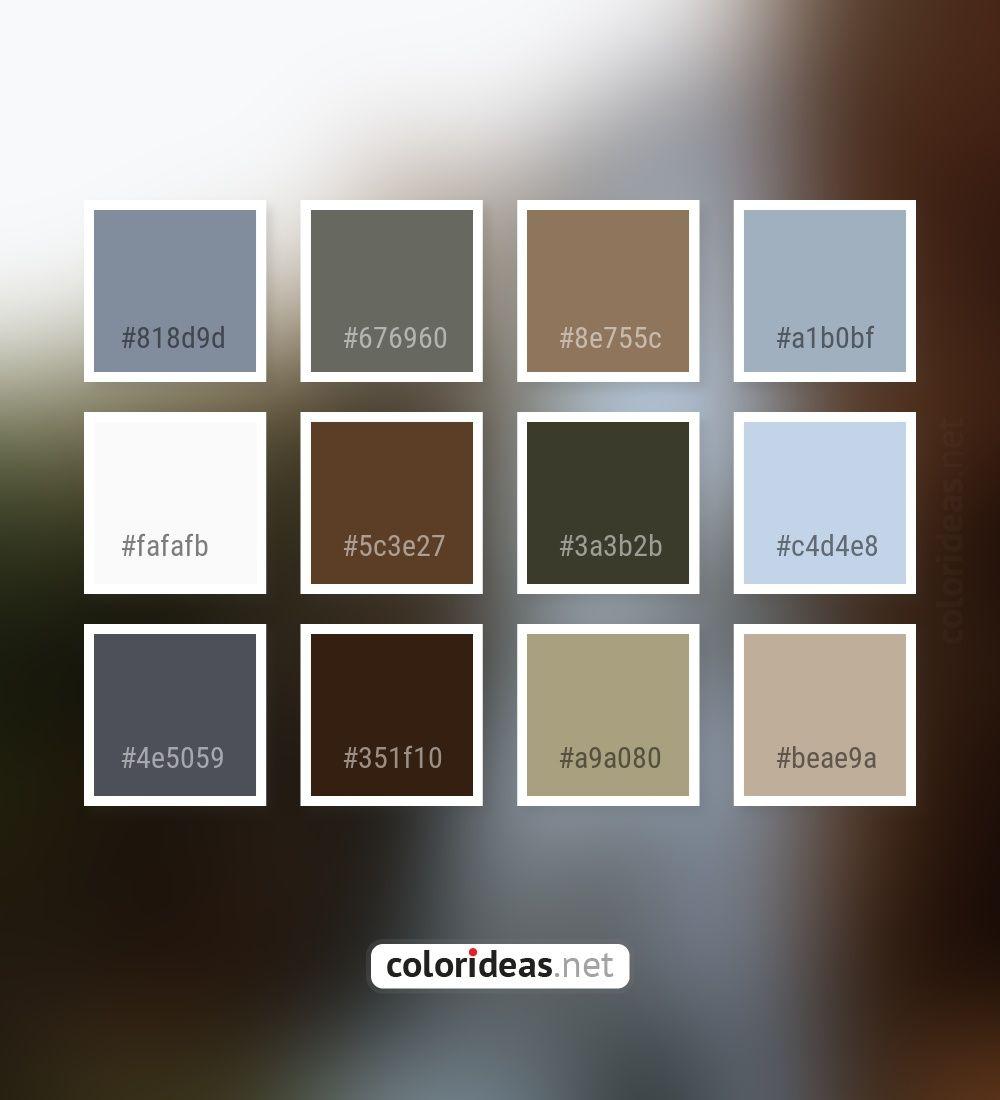 Regent gray gray 5c3e27 irish coffee color palette colors inspiration graphics design inspiration beautiful colorpalette palettes idea color
