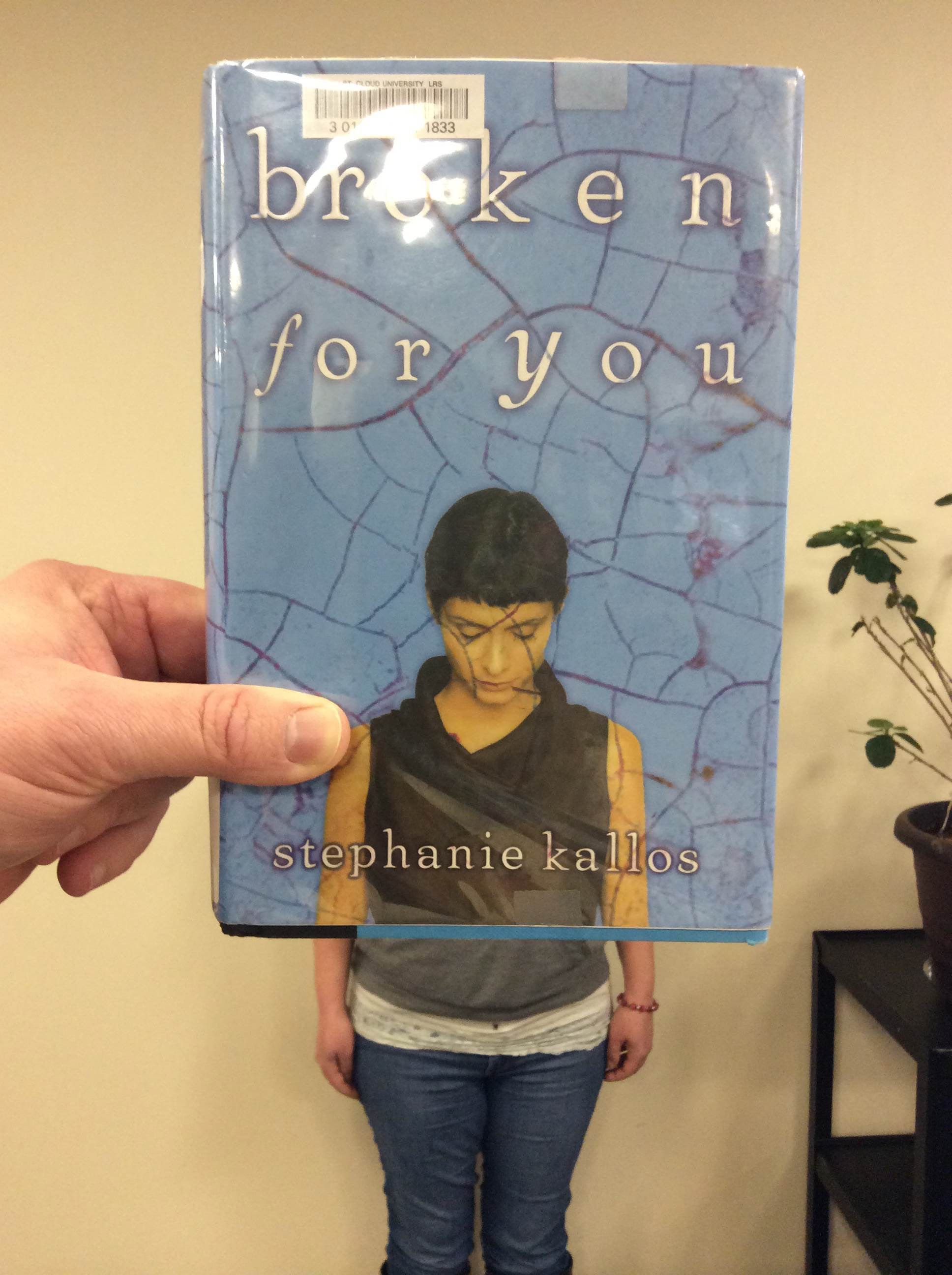 #BookFaceFriday of Broken for You by Stephanie Kallos #bookface #scsulibrary